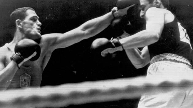 Brněnský boxer František Poláček.