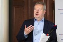 Ministr životního prostředí Richard Brabec na návštěvě Jihomoravského kraje.