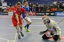 Tři prohry a jediný bod. Florbalový národní tým skončil na Euro Floorball Tour poslední