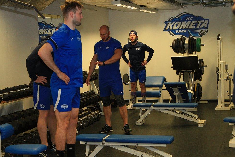 Hokejisté Komety zahájili přípravu na novou sezonu.