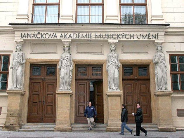 Budova JAMU v Brně