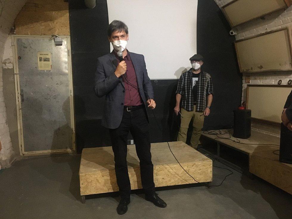 Projev senátora Marka Hilšera na vernisáži výstavy ke stému výročí narození disidenta Andreje Sacharova.