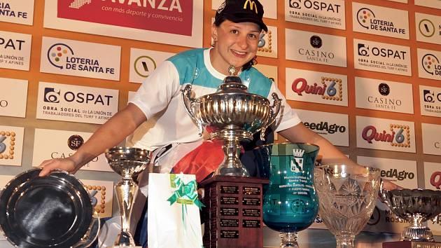 Silvie Rybářová (na snímku) po loňském druhém místu tentokrát v Argentině triumfovala.