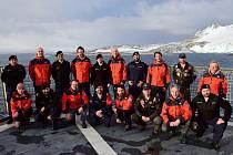 Výzkumná expedice Masarykovy univerzity v Antarktidě.