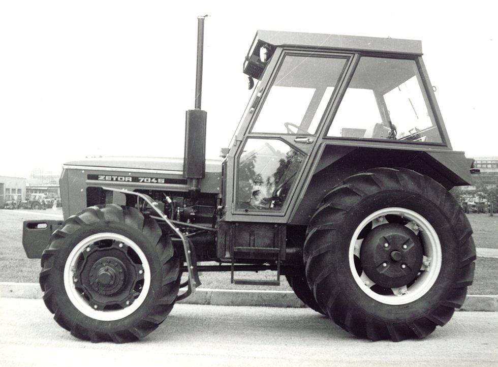 Zetor 7045 z roku 1980.