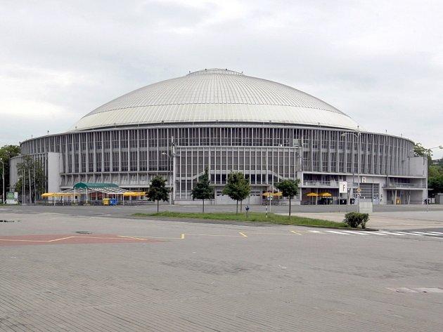 Brněnské výstaviště. Na snímku pavilon Z