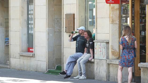 Brno 30.6.2020 - Moravské náměstí. Foto ilustrační