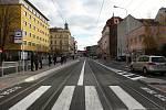 V Křenové ulici bouraly v roce 2018 vozy městské hromadné dopravy v Brně nejčastěji.