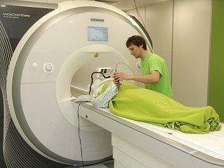 Magnetická rezonance. Ilustrační foto.