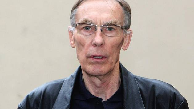 Legendární hokejový obránce Jaromír Meixner.