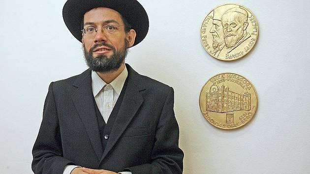 Rabín Šlomo Radomír Kučera.