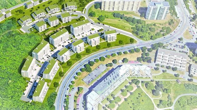Ruší plán zóny Kamenný vrch v Brně. Vzniknou tam stovky družstevních bytů