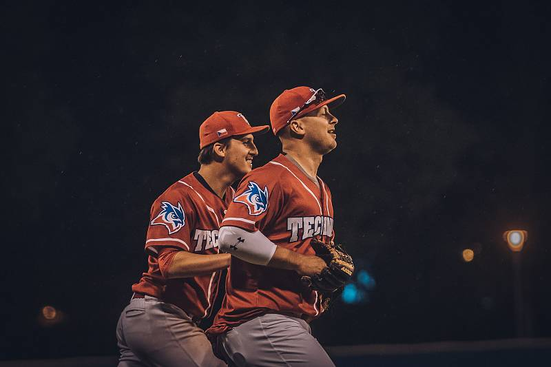 Baseballisté brněnské Techniky.