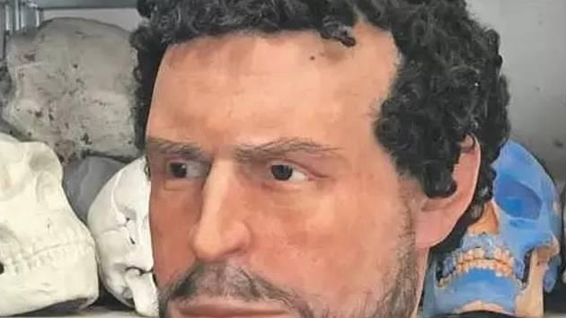 To je tvář římského legionáře z Moravy. Lidé ho spatří v nové centru