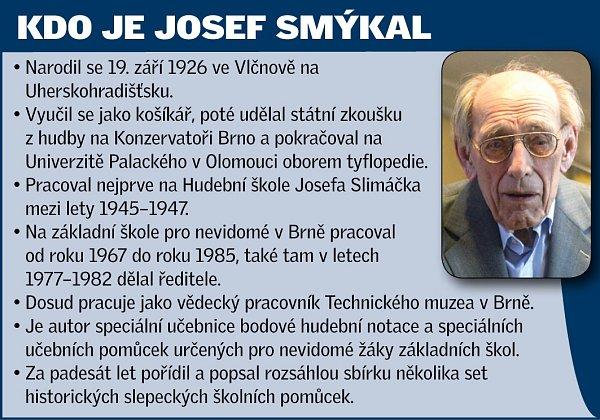 Speciální pedagog Josef Smýkal.
