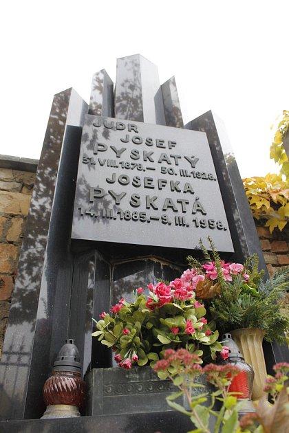 Hrob Josefa Pyskatého.