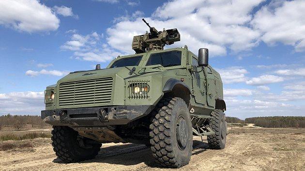 Taktické obrněné vozidlo ATV Zetor Gerlach 4x4 úspěšně absolvovalo certifikační test.