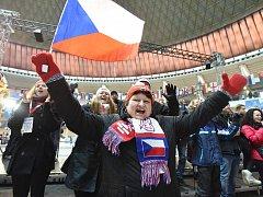 Olympijský festival v areálu brněnského výstaviště. Sobota 17. února.