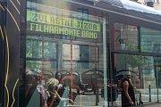 Křest nové filharmonické tramvaje
