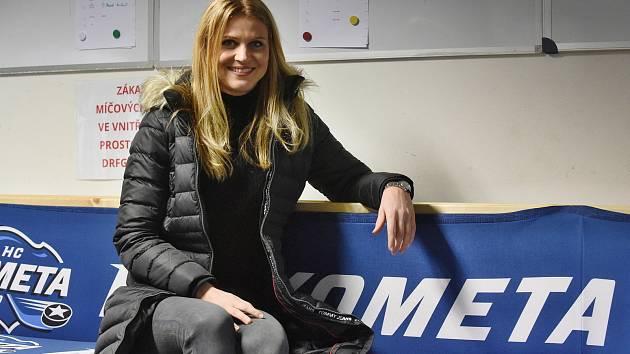 Bývalá profesionální tenistka Lucie Šafářová má coby brněnská rodačka ke Kometě blízko.