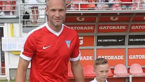 Jan Polák se synem.