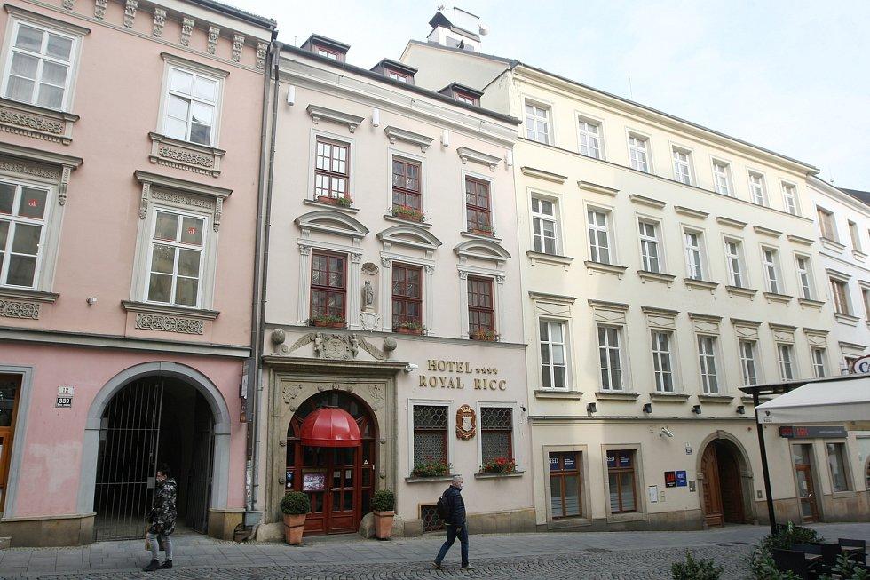 Brněnský hotel Royal Ricc