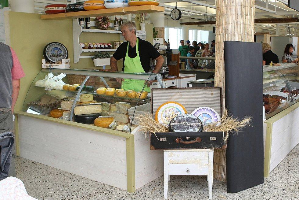 Tržnice na brněnském Zelném trhu.