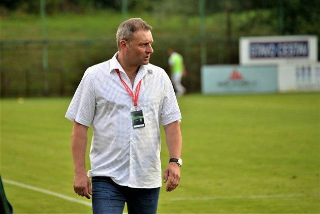 Fotbalový trenér Svatopluk Habanec povede Kuřim zkrajského přeboru.