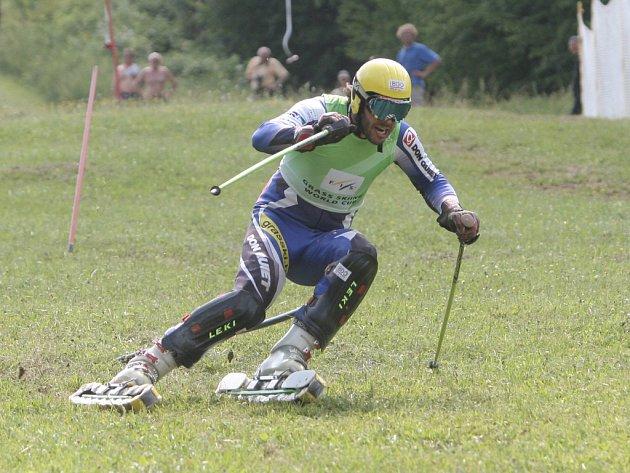 Jan Němec vyhrál 73 závodů Světového poháru. Loni ukončil kariéru. Na snímku je zachycen v akci v roce 2012.