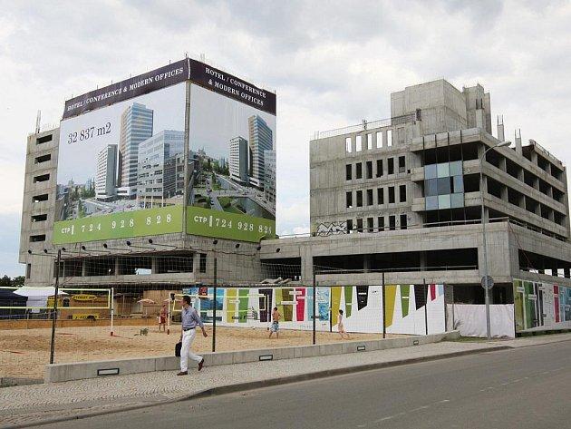 Ve Spielberk Office Centru obnoví stavební práce.