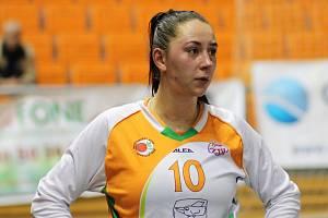 Basketbalistka Barbora Kašpárková.