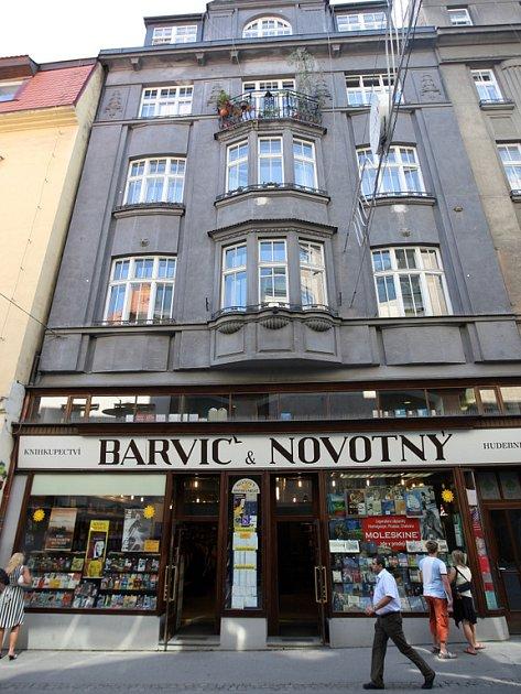 Knihkupectví Barvič & Novotný.