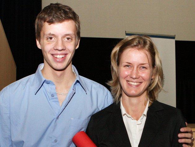 Martina Krämerová zachránila osmnáctiletého Michala Zoufalého.