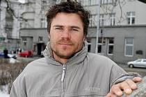 Trenér Petr Lajkeb.