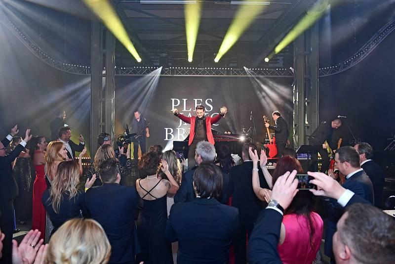 Vrcholem letošní brněnské plesové sezóny byl Ples jako Brno.