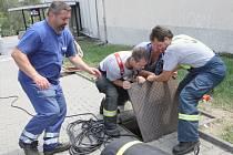 Měřičkovu ulici v Brně uzavřela dnes dopoledne policie kvůli masivnímu úniku plynu.