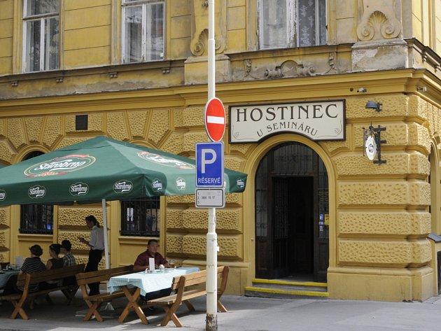 Restaurace U Seminárů.