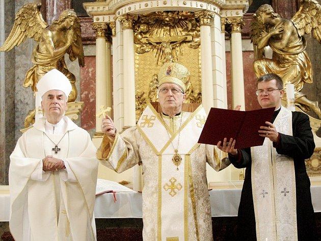 Po dvaceti letech se v neděli v brněnské Josefské ulici opět otevřel věřícím kostel svatého Josefa.