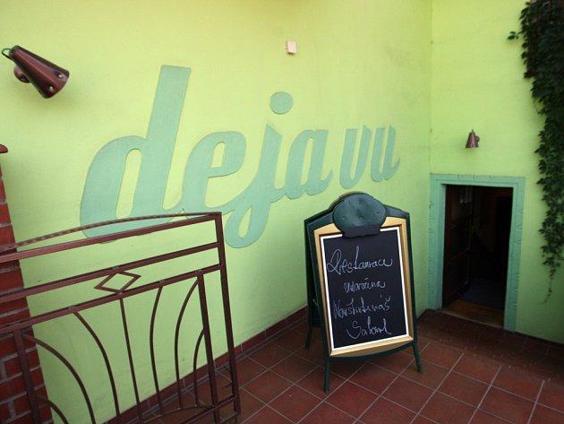 Restaurace Deja vu v Králově Poli.