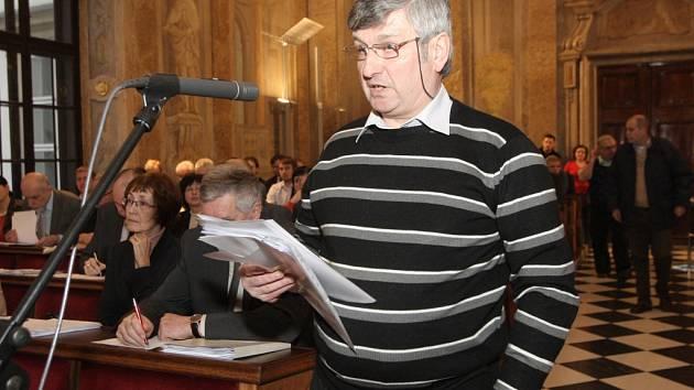 Brňané vyjadřovali nespokojenost s postupem radnice, která odložila privatizaci bytů.