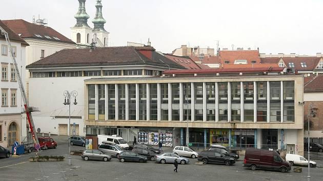 Budova tržnice na Zelném trhu v Brně. Ilustrační foto.