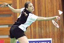 Badmintonistka Kristína Ludíková.