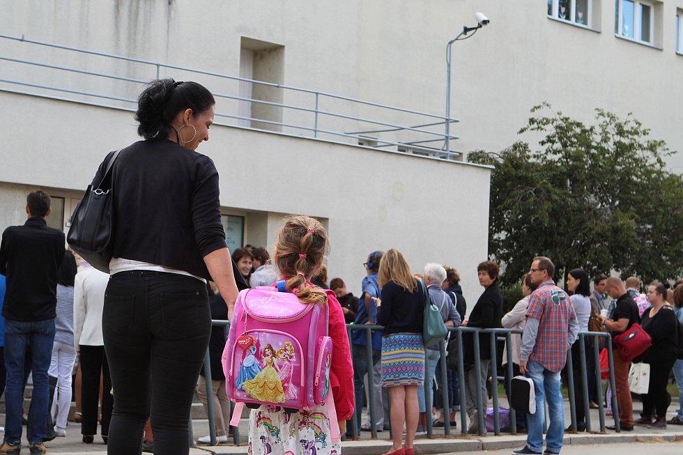 První školní den dětí na ZŠ Křídlovická.
