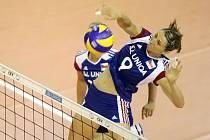 Češky v pátek zvládly úvodní duel Evropské ligy proti Izraeli, když v brněnské hale ve Vodově ulici zvítězily 3:1.