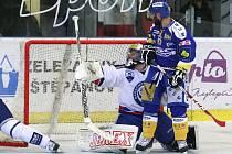 Hokejová Kometa Brno podlehla v úvodním čtvrtfinále Zlínu 2:3 po prodloužení.