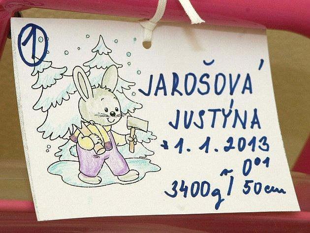 Justýna Jarošová.