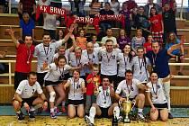 Mohou přidat třetí titul v řadě. Už v sobotu startuje nový ročník korfbalové extraligy a v roli předchozího dvojnásobného vítěze do ní vstupuje brněnský Korfbal klub.