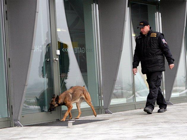 Kontrola na letišti v Tuřanech
