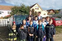 V sobotu 3. října se mladí hasiči z Padochova a jejich vedoucí zúčastnili závodu požárnické všestrannosti v Moravských Bránicích.