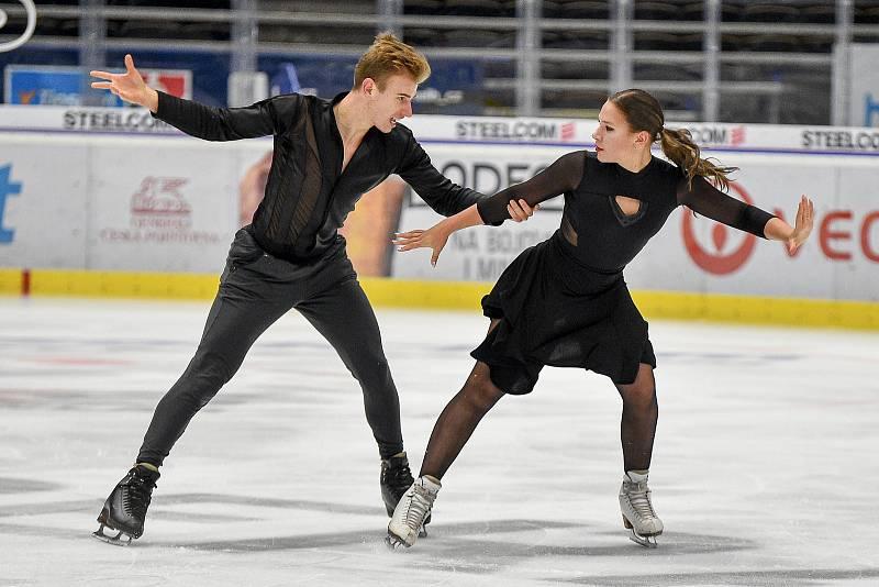 Natálie a Filip Taschlerovi si vybojovali postup na zimní olympiádu v Pekingu.